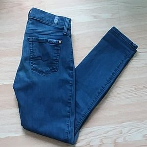 7 FAMK ankle gwenevere jeans